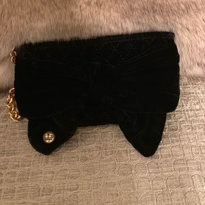 Juicy Couture Bags - Like New, Juicy Couture Black Velvet Wristlet